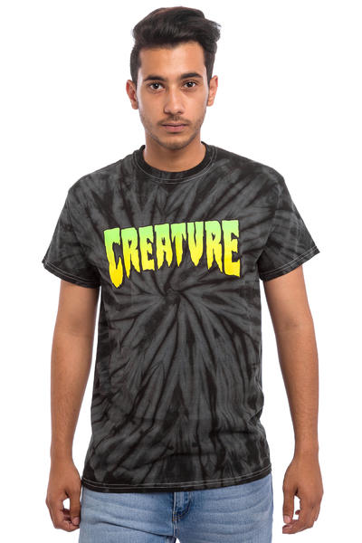 Creature Logo T-Shirt (spider black)