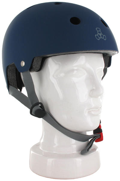 Triple Eight Brainsaver Helmet (blue rubber)