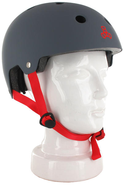 Triple Eight Brainsaver Casco (gun matte rubber)
