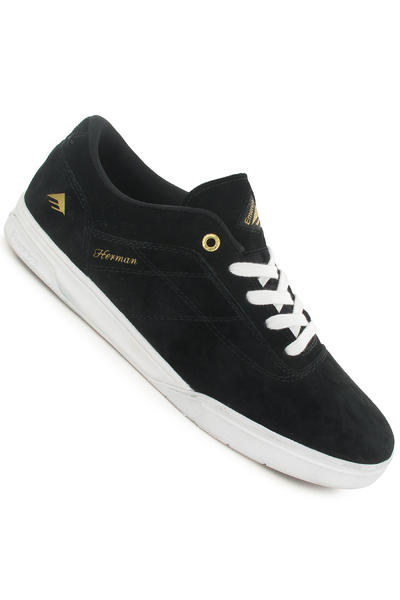 Emerica The Herman G6 Schuh (black white gold)