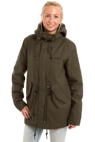 Carhartt WIP Clash Parka Jacket women (cypress)