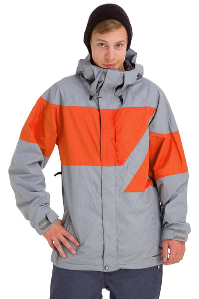 Volcom Atlantic Pacific Snowboard Jacket (grey)