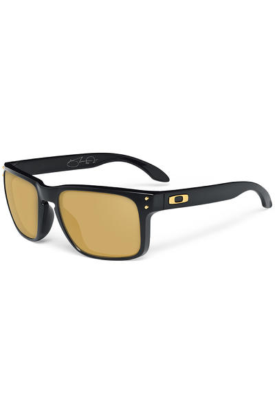 Oakley Holbrook Shaun White Signature Sonnenbrille (polished black 24K iridium)
