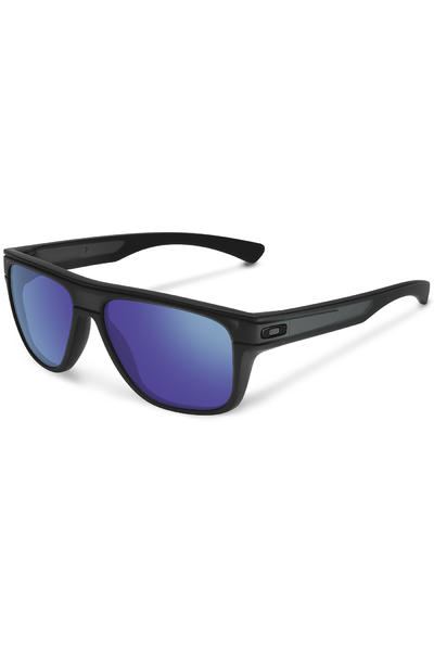 Oakley Breadbox Sonnenbrille (matte black in violet iridium)