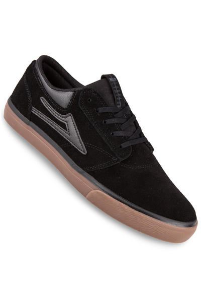 Lakai Griffin Suede Shoe (black gum)