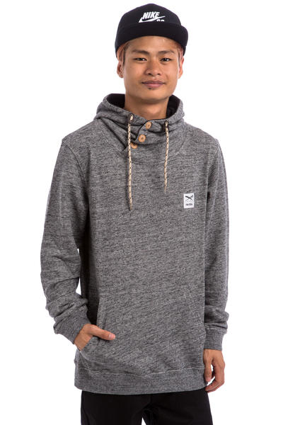 Iriedaily Chamisso Up Hoodie (anthracite melange)