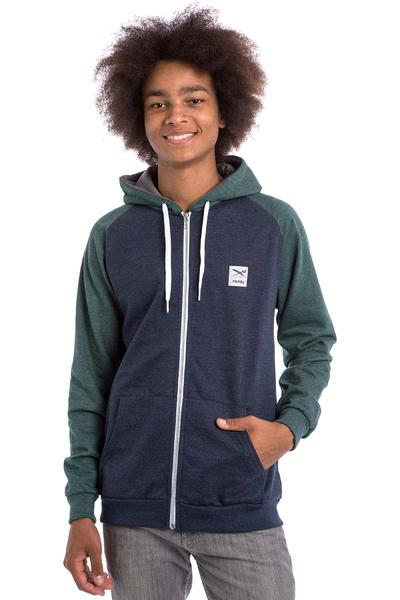 Iriedaily De College Zip-Hoodie (green blue)