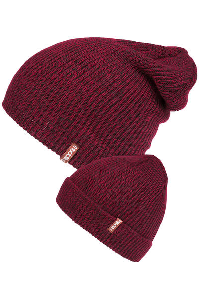 Iriedaily Smurpher Light Beanie (anthracite red)