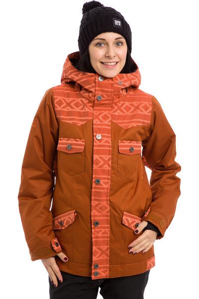 Nikita Mayon Snowboard Jacket women (gingerbread nasturtium jacquard)