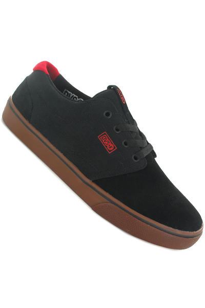 DVS Daewon 13 CT Suede Shoe (black red gum)