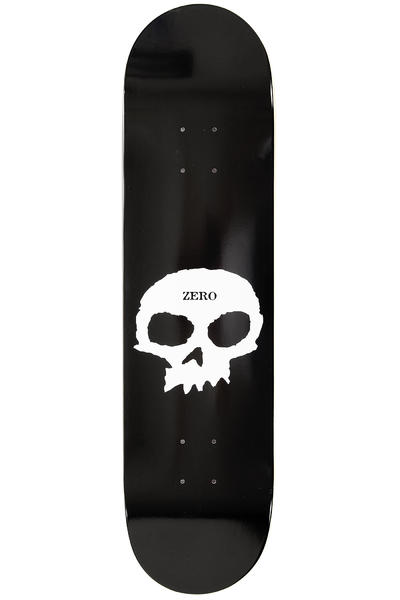 "Zero Team Single Skull 8"" Deck (black)"