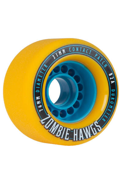 Hawgs Zombies 76mm 82A Rollen 2014 (yellow) 4er Pack