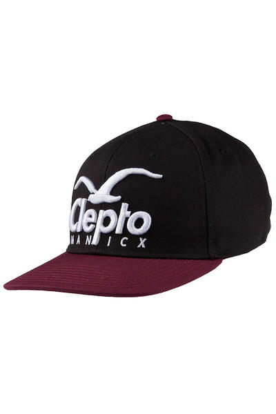 Cleptomanicx Super CI Snapback Cap (pirate black)