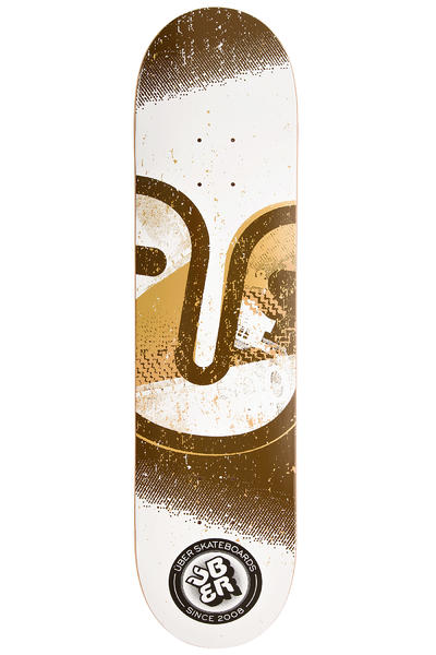 "Über Skateboards Art Class Tonal 7.875"" Deck (brown)"