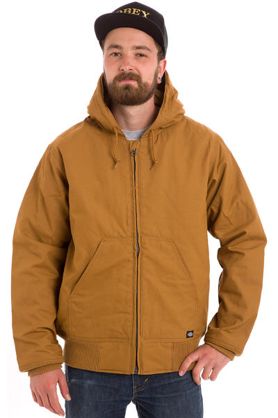 Dickies Bennett Jacke (brown duck)