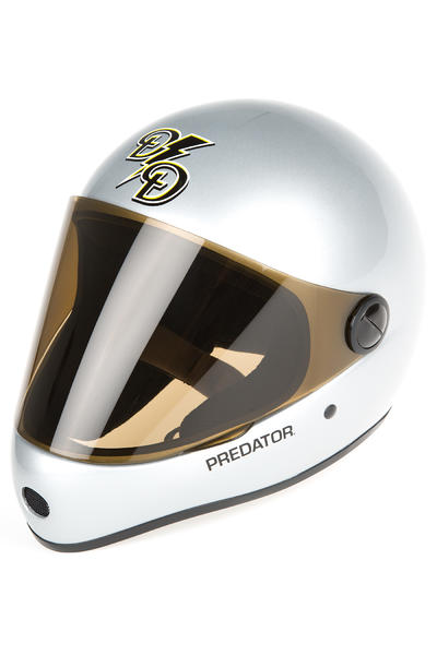 Sector 9 The Draft Downhill Helm (metallic silver)