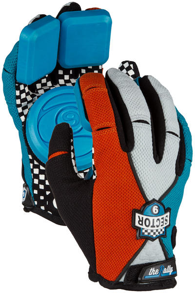 Sector 9 Rally Junior Slide Gloves kids (red)