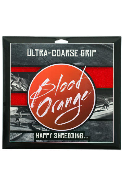 Blood Orange Heavy-Duty Ultra-Coarse Griptape (red) 4 Pack