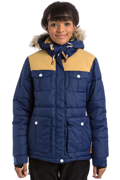 Colour Wear Tag Snowboard Jacke women (navy)