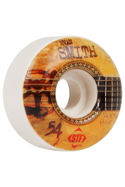 Bones STF Smith Strummer 54mm Rollen (white) 4er Pack