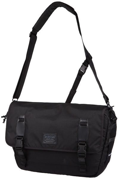 Burton Flint Messenger Bag (true black triple ripstop)