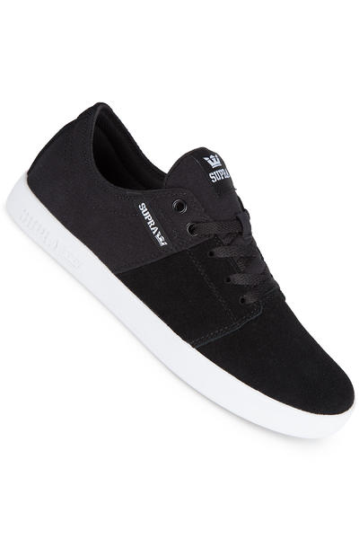 Supra Stacks II Suede Shoe (black white)