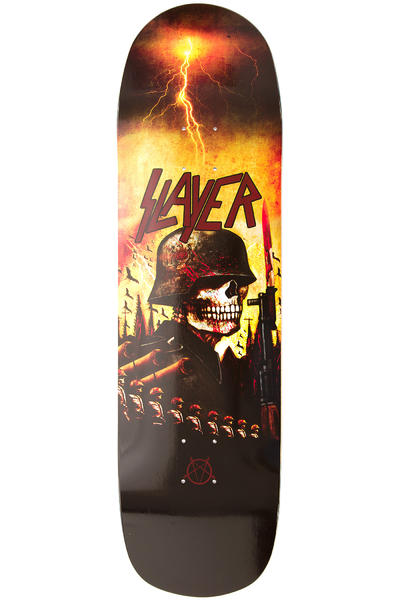 "Heavy Metal Slayer Invasion 8.625"" Deck (yellow black)"