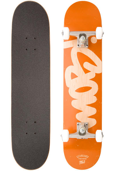 "MOB Skateboards Mob Tag 7.5"" Complete-Board (orange)"