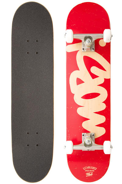 "MOB Skateboards Mob Tag 7.625"" Komplettboard (red)"