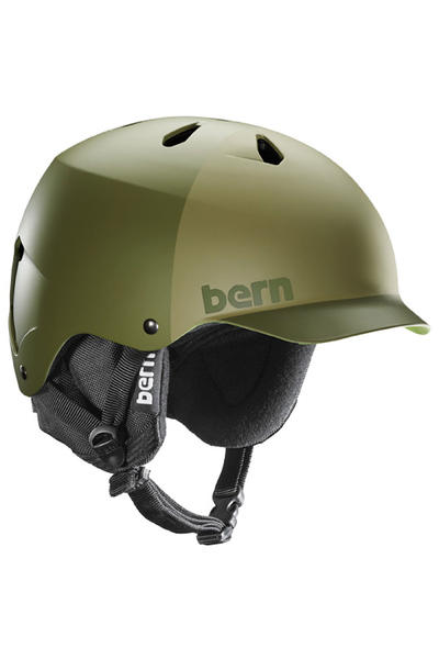 Bern Watts EPS Snow-Helmet (matte fatigue hatstyle)