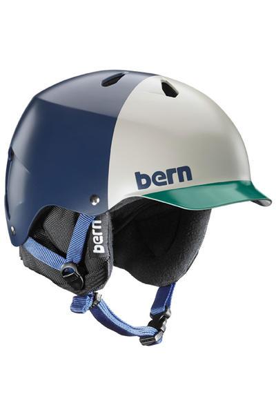 Bern Watts EPS Snow-Helmet (matte navy hatstyle)