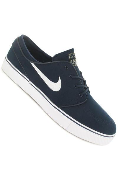 Nike SB Zoom Stefan Janoski Canvas Shoe (obsidian white)