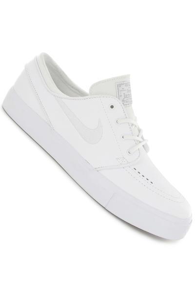 Nike SB Zoom Stefan Janoski Leather Schuh (white white wolf grey)