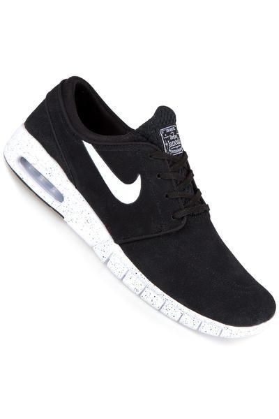 Nike SB Stefan Janoski Max Suede Shoe (black white)
