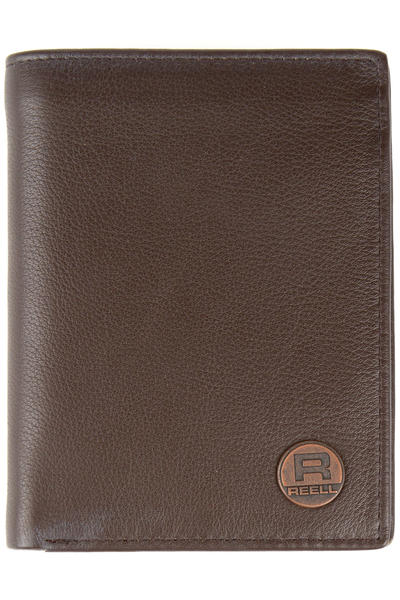 REELL Clean Leather Geldbeutel (brown)