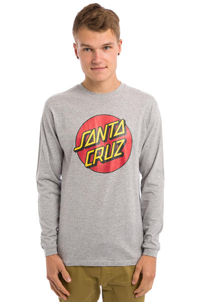 Santa Cruz Classic Dot Longsleeve (dark heather)