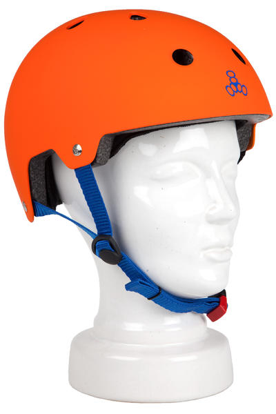 Triple Eight Brainsaver Switzer Promodel Helmet (orange rubber)