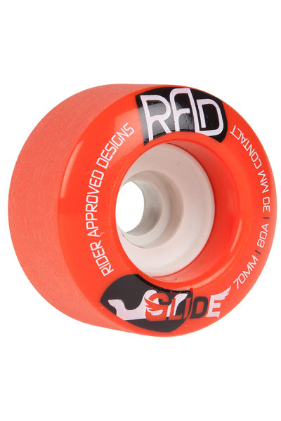 R.A.D. Glide 70mm 80A Wheel (red) 4 Pack