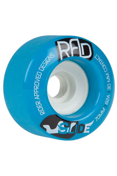 R.A.D. Glide 70mm 82a Rollen (blue) 4er Pack