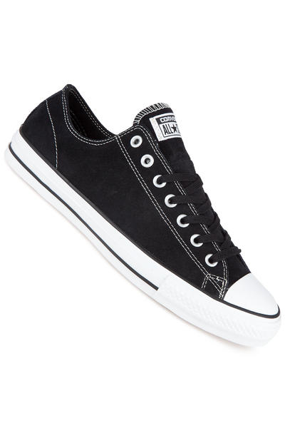 Converse CTAS Pro Core Suede Shoe (black white)
