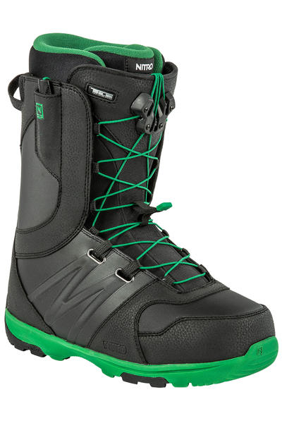 Nitro Thunder TLS bota 2014/15  (black green)