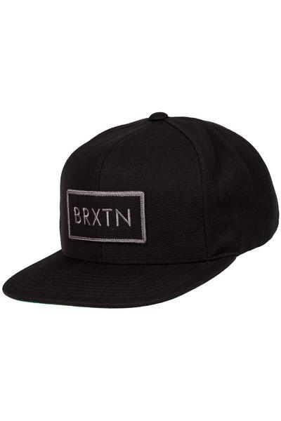 Brixton Rift Snapback Cap (black black)