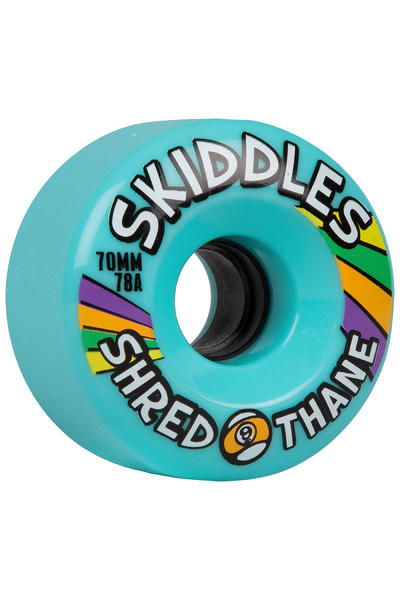 Sector 9 Skiddles 70mm 78A Rollen (blue) 4er Pack
