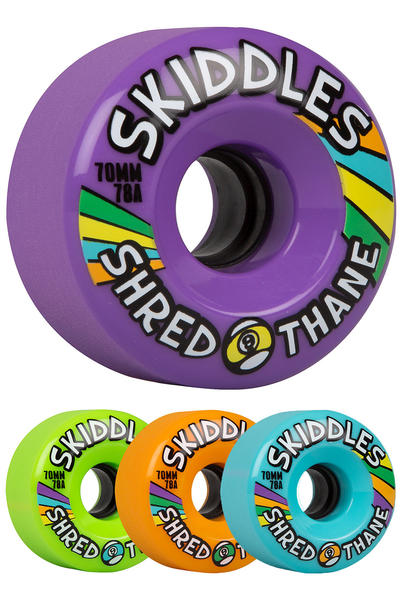 Sector 9 Skiddles 70mm 78A OS Wheel (mixed) 4 Pack