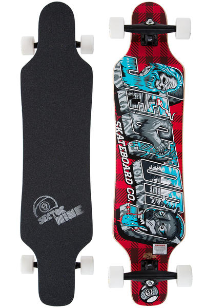 "Sector 9 Mini Shaka 40.5"" (102,9cm) Komplett-Longboard 2014 (red)"
