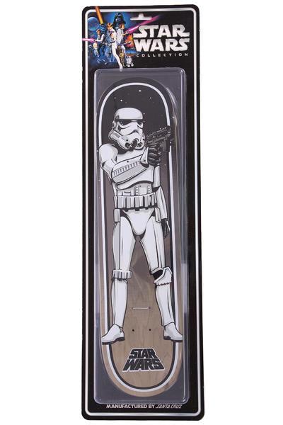 "Santa Cruz x Star Wars Stormtrooper Collectible 8"" Deck"