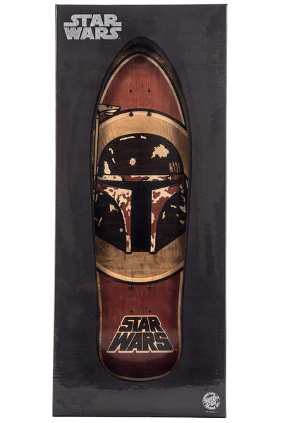 "Santa Cruz x Star Wars Boba Fett Inlay 10.35"" x 31"" Deck"