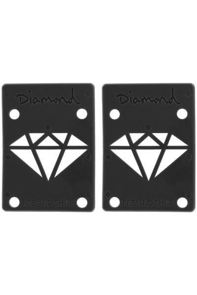 "Diamond 1/8"" Basic Riser Pad (black) 2er Pack"