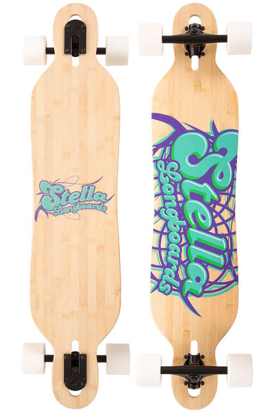 """Stella Chakra 40"""" (101,6cm) Komplett-Longboard (logo)"""