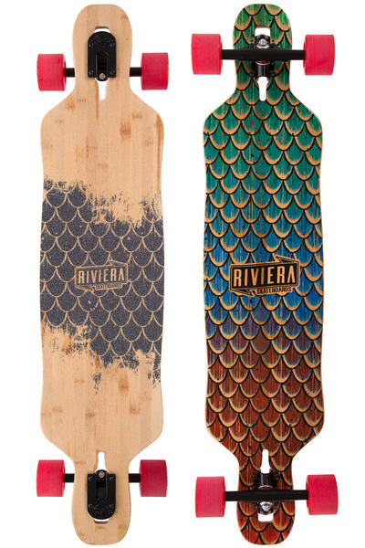 "Riviera Sea Snake 41.5"" (105,cm) Complete-Longboard (natural)"